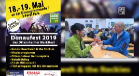 Ankündigung Donaufest in Ottensheim