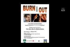 """Ankündigung Vortrag """"Burnout"""" – wenn Körper und Seele streiken"""