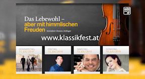 Ankündigung Klassikfestival Oberneukirchen