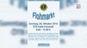 Ankündigung Flohmarkt vom LIONS-Club Freistadt