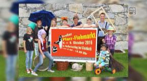 Ankündigung Flohmarkt in Grünbach