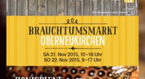 Ankündigungen Brauchtumsmarkt in Oberneukirchen