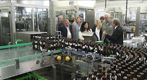 Eröffnung Flaschenabfüllanlage Brauerei Freistadt