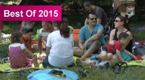 Familienpicknick in Oberneukirchen