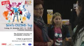 Ankündigung Berufserlebnismesse in der Messehalle Freistadt