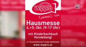 Ankündigung WIPPRO Hausmesse in Vorderweißenbach