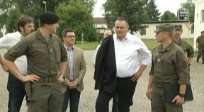 Verteidigungsminister Doskozil in Freistadt