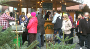 Bio-Adventmarkt in Grein 2014