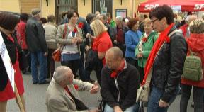1. Mai Umzug der SPö Freistadt 29. April 2014