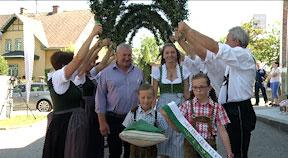 Hopfenfest in Neufelden – Wahl der Hopfenkönigin