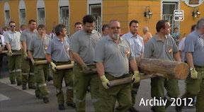 Archiv Maibaumaufstellen in Perg 2012