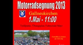 Ankündigung: Motorradsegnung in Gallneukirchen