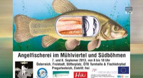 Ankündigung Angelfischerei im Mühlviertel und Südböhmen