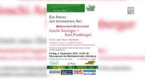 Ankündigung Mühlviertel trifft Innviertel: Joschi Anzinger und Karl Pumberger