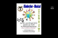 Ankündigung Kinder-Musical in Reichenau