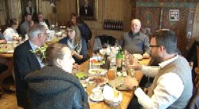 Businessfrühstück mit LR Achleitner in UU
