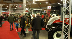 Traktorschau in der Messehalle Freistadt