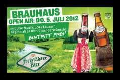 Ankündigung Brauhaus Open-Air