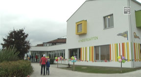 Eröffnung Kindergarten u. Krabbelstube in Altenberg