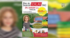 Ankündigung BauSanierSchlauTag bei der Firma Solarier in Katsdorf
