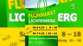 Ankündigung Flohmarkt Lichtenberg