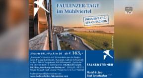 Faulenzer-Tage im Falkensteiner Hotel