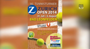 Ankündigung Tennis-Turnier in Bad Leonfelden