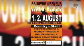 Ankündigung Countryfest Leopoldschlag 2014