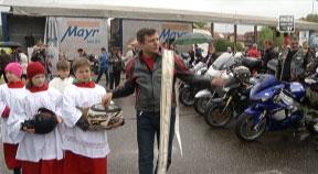 Motorradsegnung in Gallneukirchen