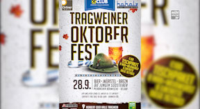 Ankündigung Tragweiner Oktoberfest