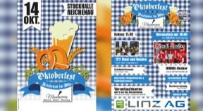 Ankündigung Oktoberfest in Reichenau am 14.10.2017