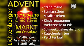 Ankündigung Lichtenberger Advent 2018