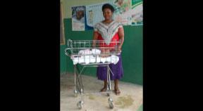LKH Freistadt spendet Babybettchen für Nigeria