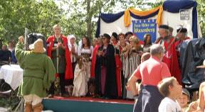 Ritterfest in Waxenberg 2017