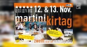Ankündigung Martinimarkt Zwettl/Rodl Ganslrennen 12./13. November 2016