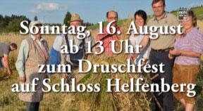 Ankündigung Druschfest in Helfenberg