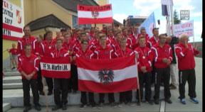 WM-Empfang der FF St. Martin im Mühlkreis