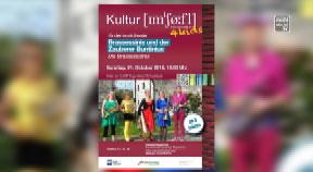 Ankündigung Kindermusiktheater Brassessinis