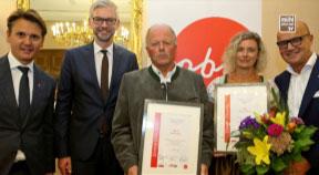 Land OÖ dankt 2 Touristikern der Mühlviertler Alm für langjähriges Engagement