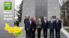 Landtagspräsident Sigl besucht Gedenkstätte Mauthausen