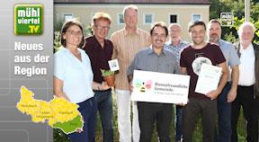 St. Georgen an der Gusen als bienenfreundliche Gemeinde ausgezeichnet