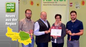 "Goldmedaillen für Biohof Rudlstorfer ""Baiernaz"""