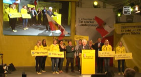 ÖVP Bezirkskundgebung in Rohrbach