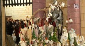 Weihnachtsmarkt im Funiversum in St. Oswald