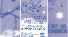 Ankündigung Alberndorfer Adventmarkt