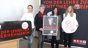 """""""G'lernt is g'lernt"""" Bettina Blahnik-Wöss aus Aigen-Schlägl als Vorbild"""