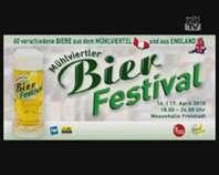 Ankündigung Bierfestival 2010