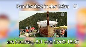Ankündigung Familienfest Exlau