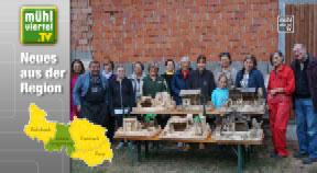 Der 5. Krippenbaukurs des Lichtenberger Volksbildungswerks war wieder ein voller Erfolg