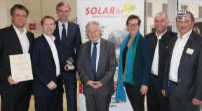 Größte Unternehmensauszeichnung für SOLARier
